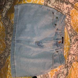 Cute Denim Jean Skirt